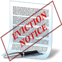 Every eviction begins with some kind of written notice. The most common types of notices are 5 day notices (for non-payment of rent) and 30 day notices (to terminate the tenancy). The drafting and serving of these notices can make or break a potential eviction case, so they must be done according to the law. You can click on the image next to this text to create a notice online.